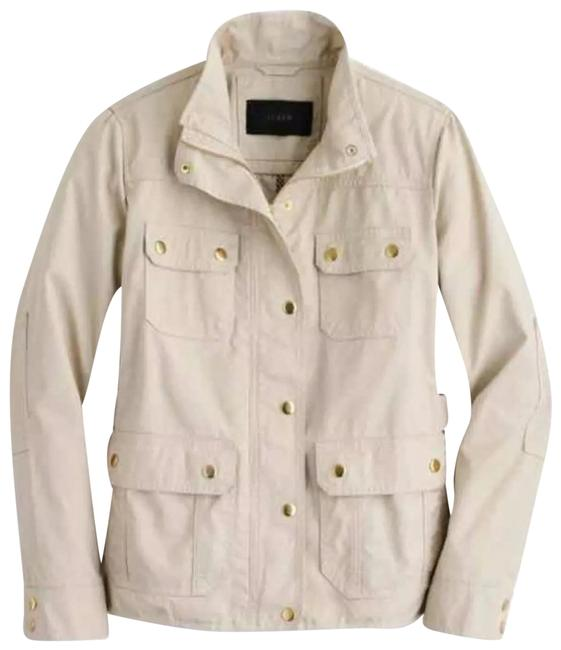 Item - Ivory/Cream Downtown Field Jacket Size 4 (S)