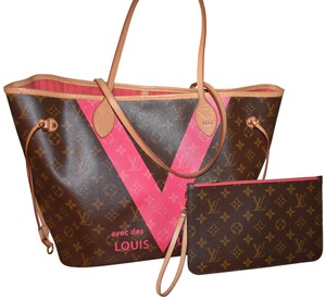 66cfca6b6d0f Louis Vuitton Neverfull W Mm 2015 Limited Edition
