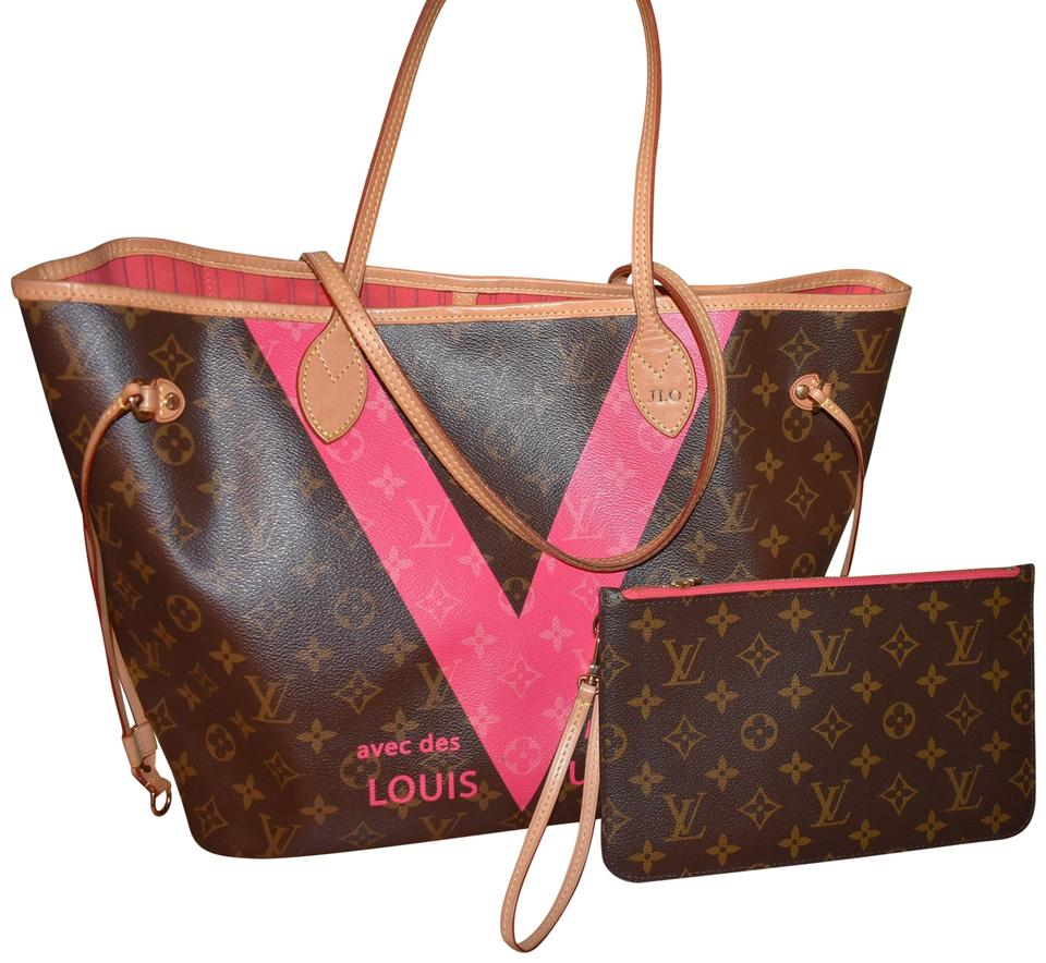 d28c6a9093a0 Louis Vuitton Neverfull W Mm 2015 Limited Edition
