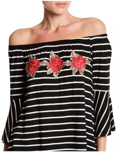West Kei Top Black, White