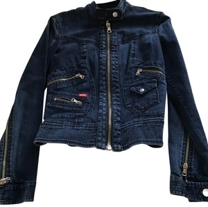 Miss Sixty Blue Jean Womens Jean Jacket
