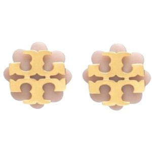 Tory Burch two tone stud earrings