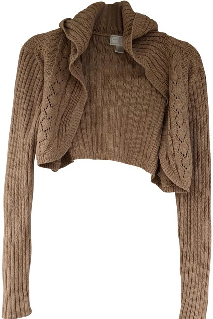 Preload https://img-static.tradesy.com/item/22671669/american-eagle-outfitters-tan-cropped-sweaterpullover-size-12-l-0-1-650-650.jpg