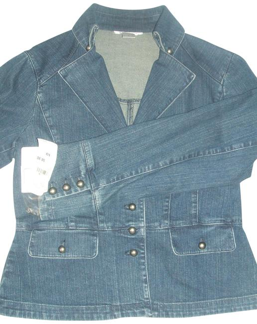 Preload https://img-static.tradesy.com/item/22671706/nine-west-women-s-blue-jean-blazer-nords-denim-jacket-size-10-m-0-1-650-650.jpg