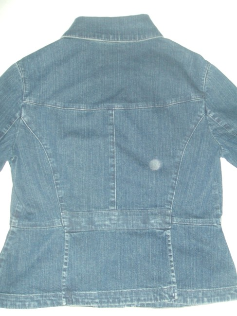 Nine West Womens Jean Jacket Image 2