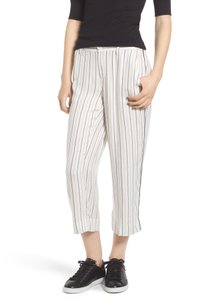 Treasure & Bond Treasure & Bond Women's Crop Wide Leg Trousers IVORY CLOUD