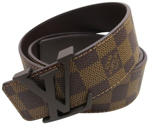 Louis Vuitton Louis Vuitton Damier Graphite Initiales 36MM Belt