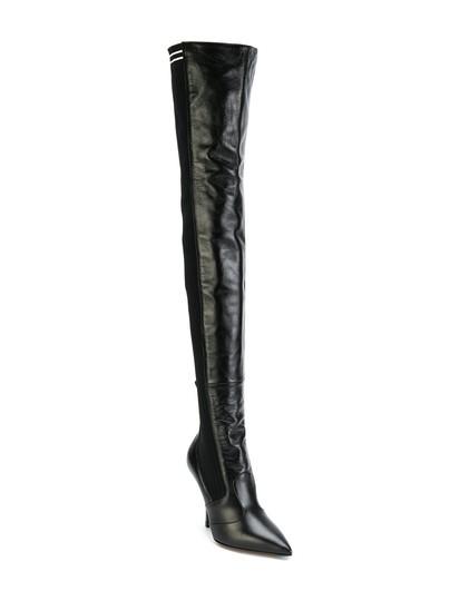 Fendi Rockoko Thigh High Otk Over The Knee black Boots Image 2