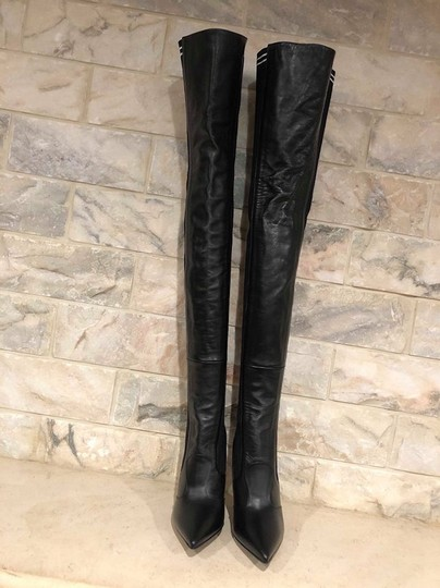 Fendi Rockoko Thigh High Otk Over The Knee black Boots Image 7