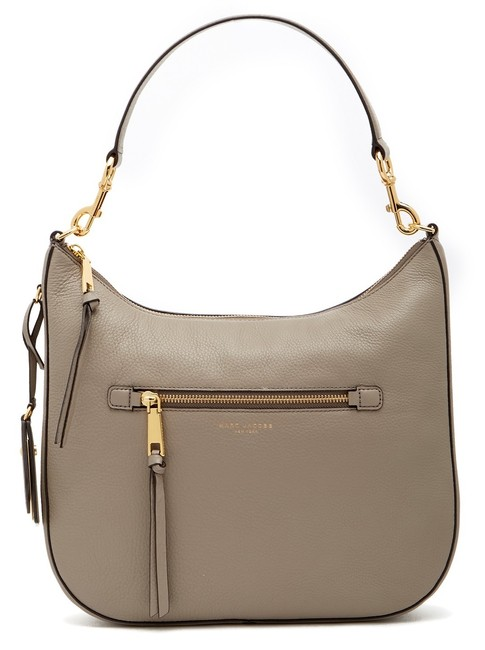 Marc Jacobs Shoulder Recruit Mink Leather Hobo Bag Marc Jacobs Shoulder Recruit Mink Leather Hobo Bag Image 1