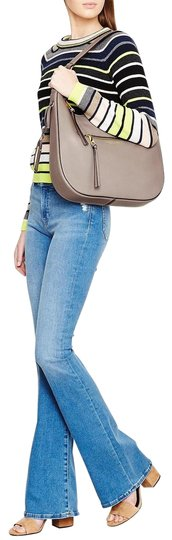 Marc Jacobs Recruit Leather Shoulder Purse Leather Recruit Hobo Bag Image 1