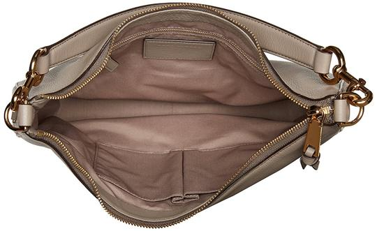 Marc Jacobs Recruit Leather Shoulder Purse Leather Recruit Hobo Bag Image 3