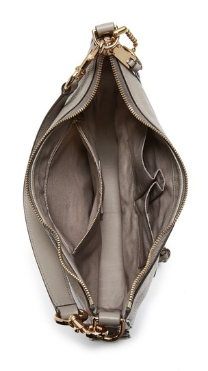 Marc Jacobs Recruit Leather Shoulder Purse Leather Recruit Hobo Bag Image 6