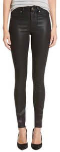 Paige Wax Coated Skinny Jeans-Coated