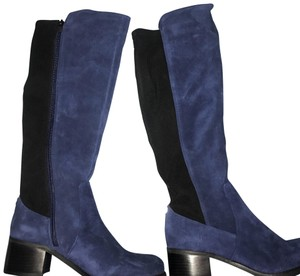 Vince Camuto Blue Francel Boots/Booties