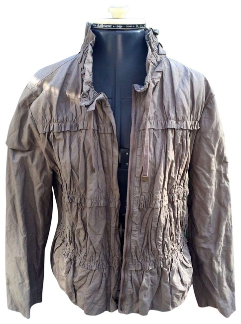 Preload https://img-static.tradesy.com/item/22672162/chico-s-army-olive-green-ruched-ruffled-rain-jacket-size-10-m-0-4-650-650.jpg