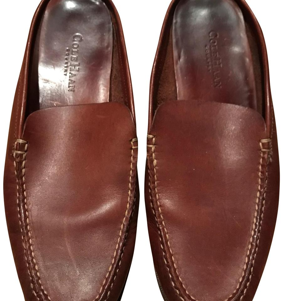 Cole Haan Dark Brown Country Flats Size US 9.5 Wide (C, D) - Tradesy