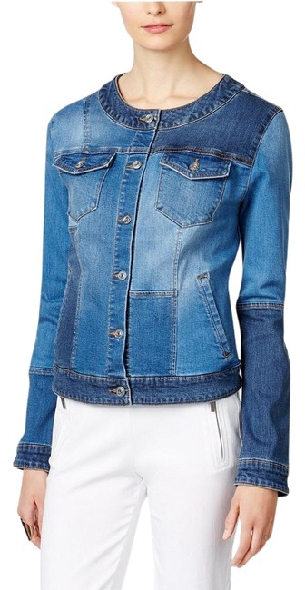 INC International Concepts Womens Jean Jacket Image 0