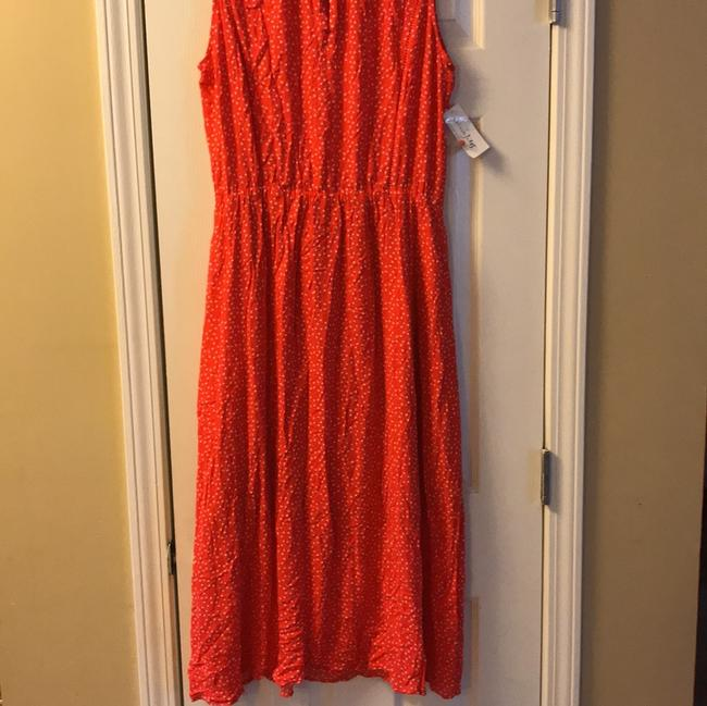 tomato red Maxi Dress by Maison Jules Image 2