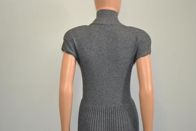 grey Maxi Dress by Chanel Sweater Cashmere Cap Sleeve Cc Image 7