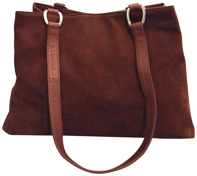 Item - Brown Suede Leather Tote