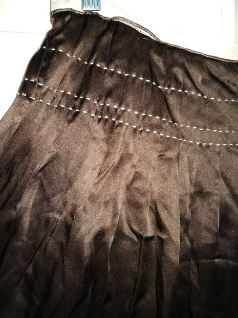 New Frontier Skirt Brown white Image 2