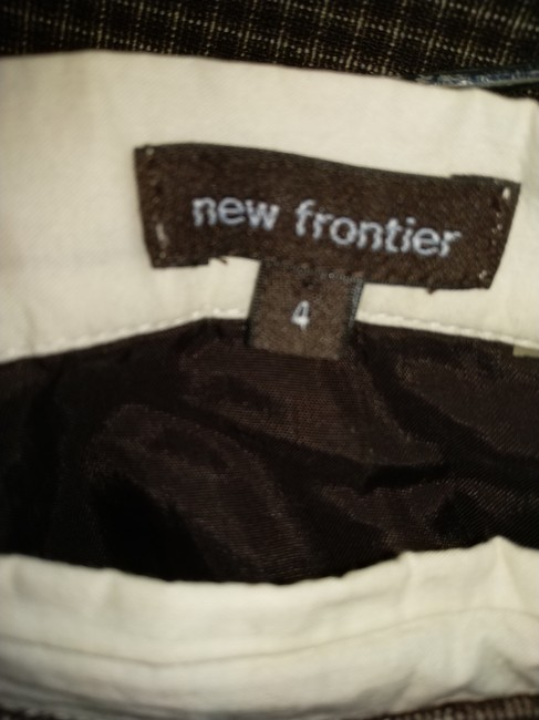 New Frontier Skirt Brown white Image 4