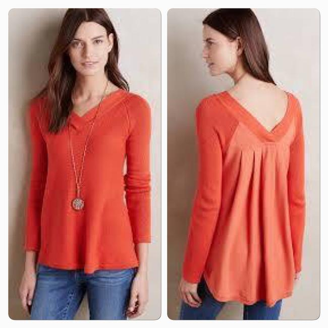 Anthropologie Knitted And Knotted Double V Oversized Sweater Image 2