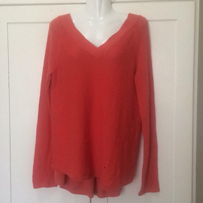 Anthropologie Knitted And Knotted Double V Oversized Sweater Image 3