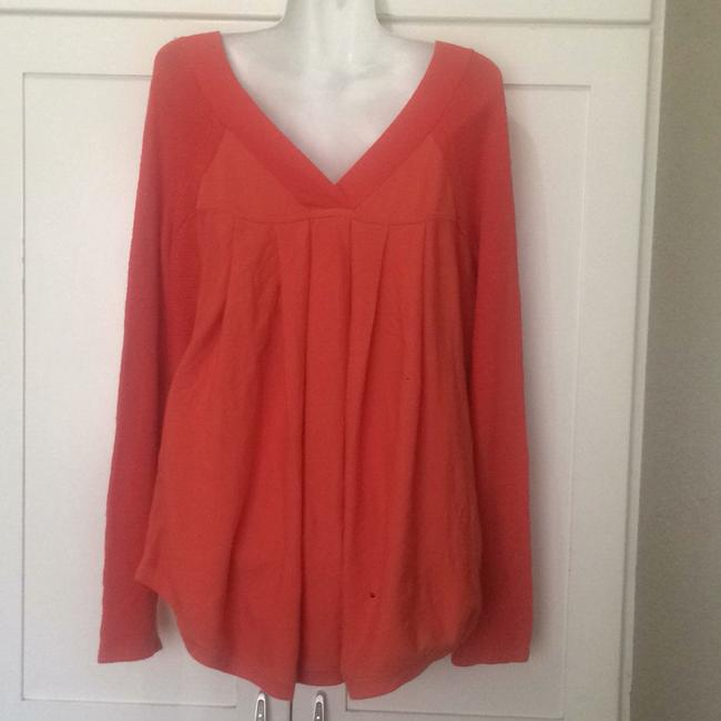 Anthropologie Knitted And Knotted Double V Oversized Sweater Image 4
