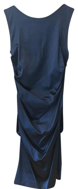 Preload https://img-static.tradesy.com/item/22672756/nicole-miller-navy-blue-ruched-short-cocktail-dress-size-2-xs-0-1-650-650.jpg