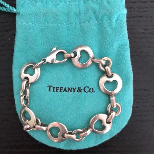 Tiffany & Co. Tiffany & Co. rare and retired Sterling silver stencil cutout heart bracelet Image 5