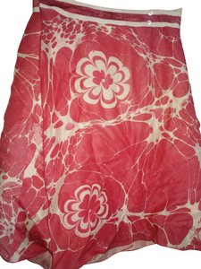 Zenobia Skirt Pink white