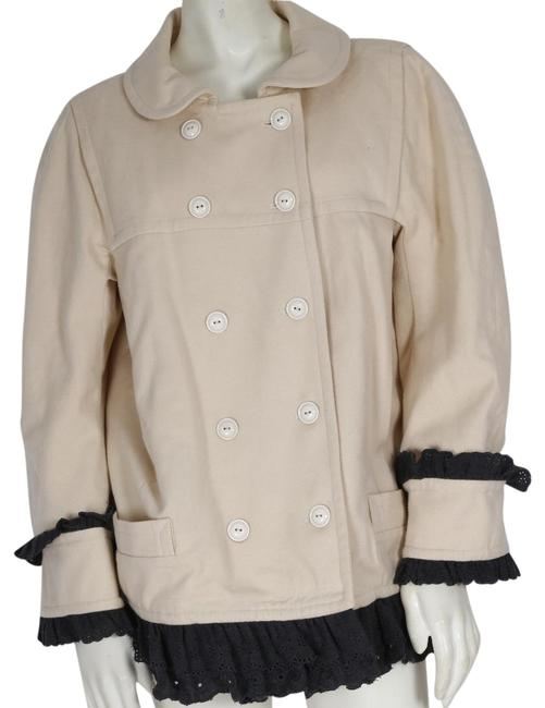 Marc by Marc Jacobs Cream Wool Jacket Size 10 (M) Marc by Marc Jacobs Cream Wool Jacket Size 10 (M) Image 1