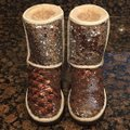 UGG Australia Champagne Two Tone Sequins Classic Boots/Booties Size US 6 Regular (M, B) UGG Australia Champagne Two Tone Sequins Classic Boots/Booties Size US 6 Regular (M, B) Image 3