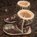 UGG Australia Champagne Two Tone Sequins Classic Boots/Booties Size US 6 Regular (M, B) UGG Australia Champagne Two Tone Sequins Classic Boots/Booties Size US 6 Regular (M, B) Image 5
