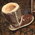 UGG Australia Champagne Two Tone Sequins Classic Boots/Booties Size US 6 Regular (M, B) UGG Australia Champagne Two Tone Sequins Classic Boots/Booties Size US 6 Regular (M, B) Image 6