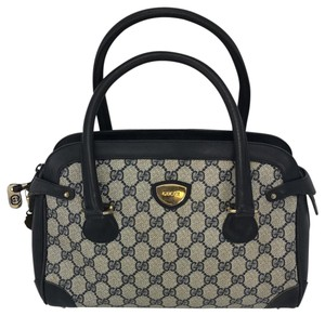 Gucci Collectible Doctor Satchel in navy