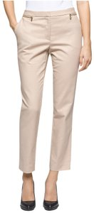 Calvin Klein Slim Pockets Gold Hardware Cropped Pants