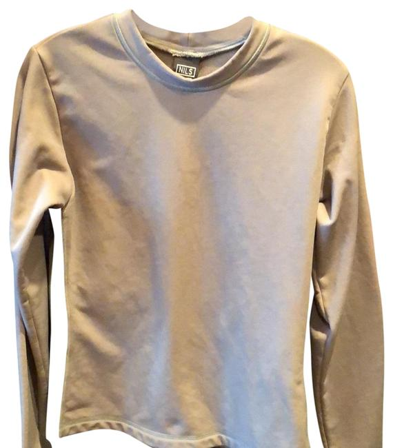 NILS Taupe/Black Skiwear Activewear Top Size 8 (M) NILS Taupe/Black Skiwear Activewear Top Size 8 (M) Image 1