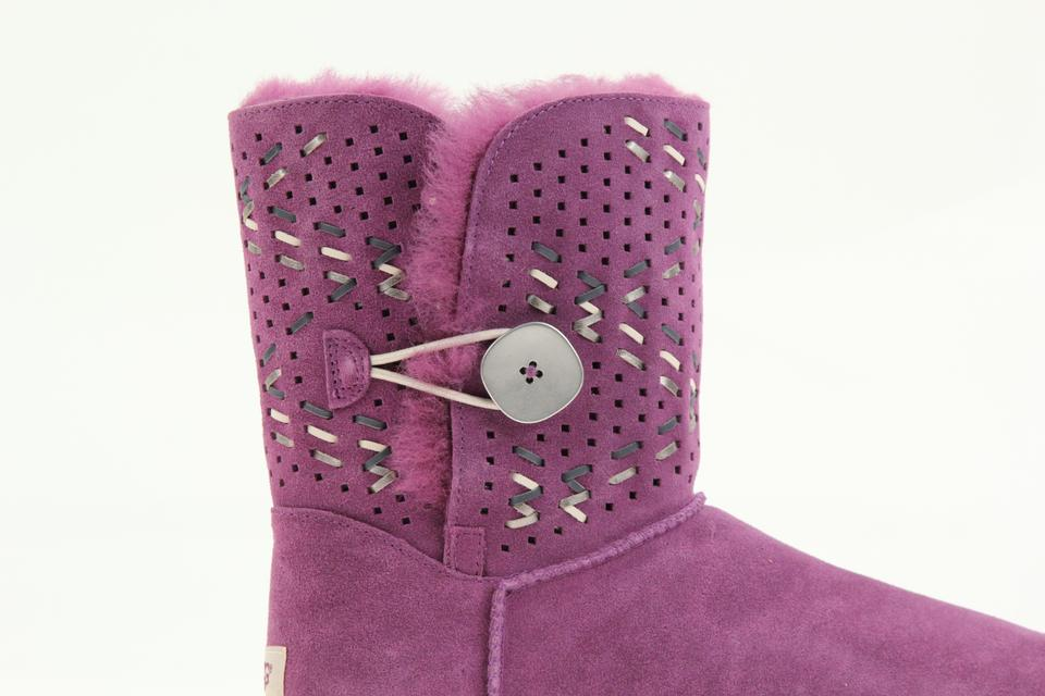 de34df456c9 UGG Australia Puprple Bailey Button Tehuano Boots/Booties Size US 9 Regular  (M, B) 61% off retail