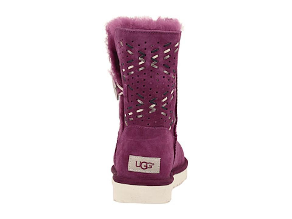 b6ada9a9db8 UGG Australia Purple Passion Bailey Button Tehuano Boots/Booties Size US 9  Regular (M, B) 25% off retail