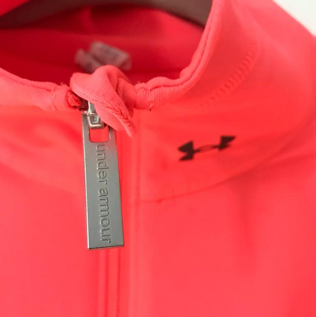 Under Armour hot pink zip-up Image 2