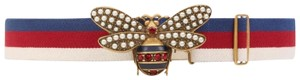 Gucci Gucci Sylvia Web belt with bee