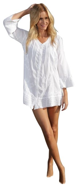 Preload https://img-static.tradesy.com/item/22674152/lirome-white-chia-crochet-embroideries-organic-cotton-34-sleeves-ibiza-tunic-size-6-s-0-1-650-650.jpg