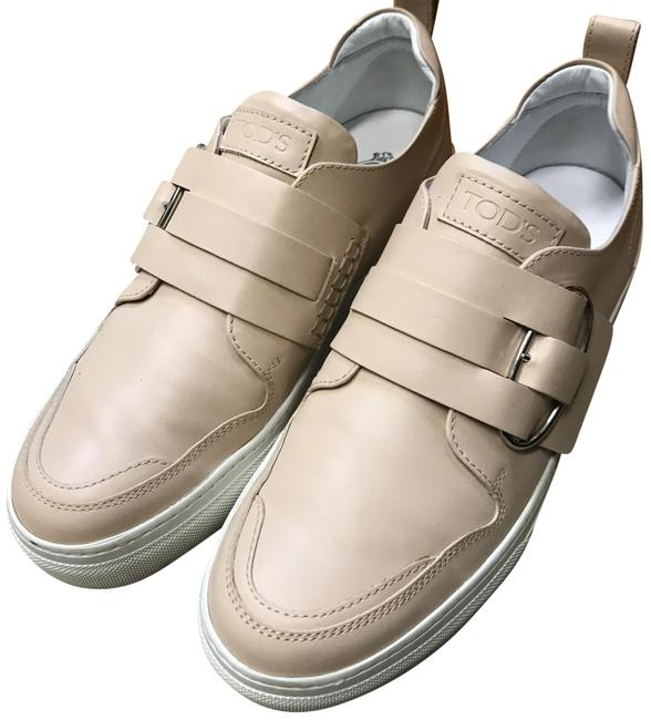 Tod's Nude Sportivo Sneakers Size EU 37.5 (Approx. US 7.5) Regular (M, B) Tod's Nude Sportivo Sneakers Size EU 37.5 (Approx. US 7.5) Regular (M, B) Image 1