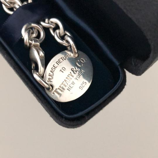 Tiffany & Co. 15.25 inches!! STUNNING PLEASE RETURN TO TIFFANY OVAL TAG NECKLACE Image 3