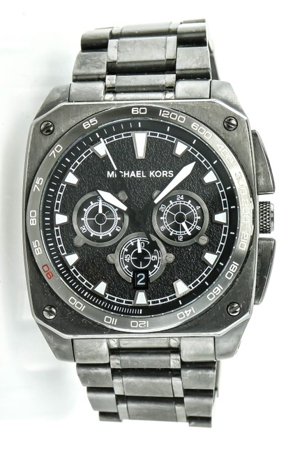 Michael Kors * Gunmetal Mk 8392 Color Watch Michael Kors * Gunmetal Mk 8392 Color Watch Image 1