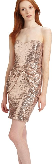 Preload https://img-static.tradesy.com/item/22674947/mark-and-james-by-badgley-mischka-metallic-pink-strapless-sequin-short-formal-dress-size-0-xs-0-1-650-650.jpg