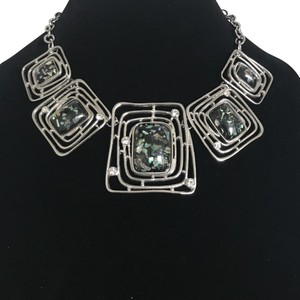Stately Steel Stately Steel Stainless Enamel Necklace (16.5